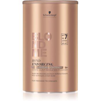 Schwarzkopf Professional Blondme strălucitor premium cu conținut de argilă imagine 2021 notino.ro