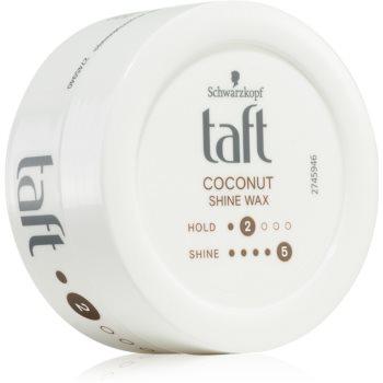 Schwarzkopf Taft Coconut Shine ceara de par ofera hidratare si stralucire image0