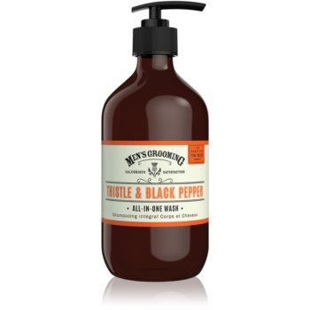 Scottish Fine Soaps Men's Grooming Thistle & Black Pepper gel de duș pentru corp și păr notino.ro