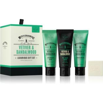 Scottish Fine Soaps Men's Grooming Vetiver & Sandalwood set de cosmetice V. pentru bărbați imagine 2021 notino.ro