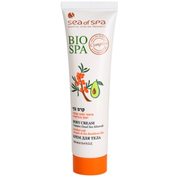 Sea of Spa Bio Spa crema de corp cu avocado si hippophae imagine 2021 notino.ro