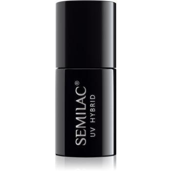 Semilac Paris UV Hybrid Top No Wipe Real Color lac gel de unghii pentru acoperirea superioară notino.ro