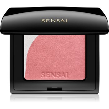 Sensai Blooming Blush blush cu efect iluminator cu pensula notino.ro