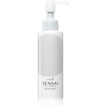 Sensai Silky Purifying Step 2 Sapun hidratant pentru curatare uscata si foarte uscata imagine 2021 notino.ro