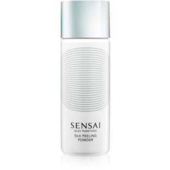 Sensai Silky Purifying Silk Peeling Powder exfoliant facial pentru toate tipurile de ten imagine 2021 notino.ro