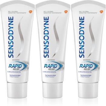 Sensodyne Rapid Whitening pasta de dinti pentru albire pentru dinti sensibili imagine 2021 notino.ro