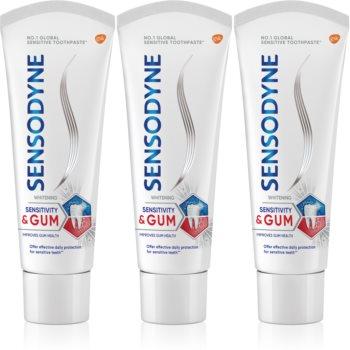 Sensodyne Sensitivity & Gum Whitening pasta de dinti pentru albire pentru a proteja dintii si gingiile imagine 2021 notino.ro
