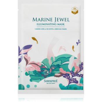 Shangpree Marine Jewel mască textilă iluminatoare imagine 2021 notino.ro