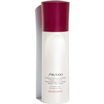 Shiseido Generic Skincare Complete Cleansing Micro Foam spuma de curatare cu efect de hidratare imagine 2021 notino.ro