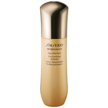 Shiseido Benefiance NutriPerfect Pro-Fortifying Softener tonic fortifiant pentru ten matur imagine 2021 notino.ro