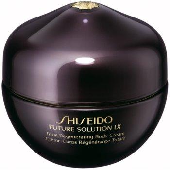 Shiseido Future Solution LX Total Regenerating Body Cream crema de corp pentru fermitatea pielii pentru piele neteda si delicata notino.ro