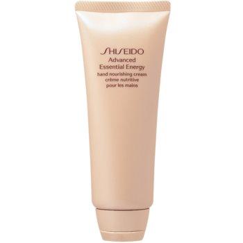 Shiseido Advanced Essential Energy Hand Nourishing Cream crema revitalizanta de maini imagine 2021 notino.ro