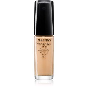 Shiseido Synchro Skin Glow Luminizing Fluid Foundation make-up pentru luminozitate SPF 20 imagine 2021 notino.ro