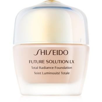 Shiseido Future Solution LX Total Radiance Foundation machiaj pentru reintinerire SPF 15 notino.ro