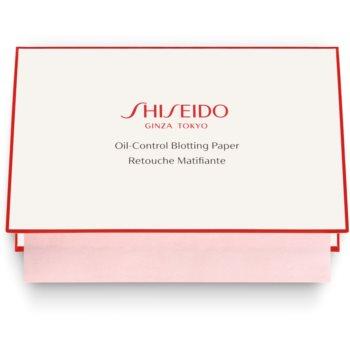 Shiseido Generic Skincare Oil Control Blotting Paper hartii matifiante pentru ten gras și mixt imagine 2021 notino.ro