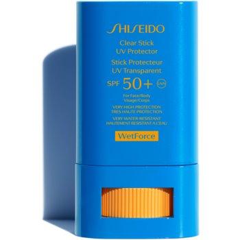 Shiseido Sun Care Clear Stick UV Protector WetForce baton cu protectie solara SPF 50+ imagine 2021 notino.ro