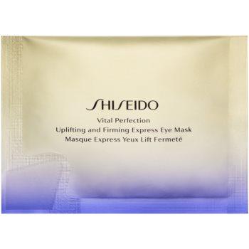 Shiseido Vital Perfection Uplifting & Firming Express Eye Mask masca cu efect de lifting si fermitate zona ochilor image0