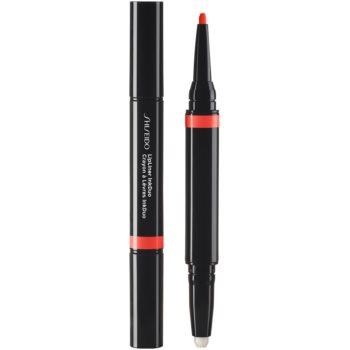 Shiseido LipLiner InkDuo ruj și creion pentru conturul buzelor balsam imagine 2021 notino.ro