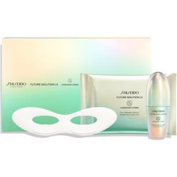 Shiseido Future Solution LX Legendary Enmei Ultimate Luminance Serum set cadou cu efect antirid