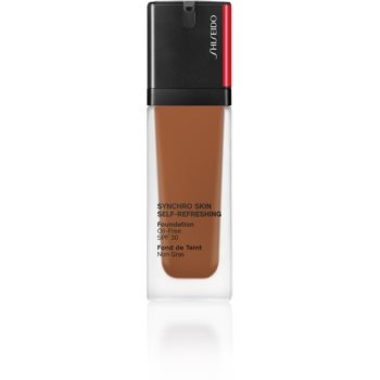 Shiseido Synchro Skin Self-Refreshing Foundation machiaj persistent SPF 30 notino poza