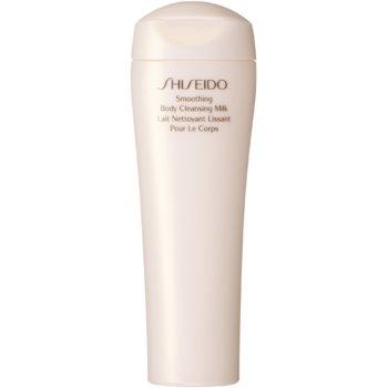 Shiseido Global Body Care Smoothing Body Cleansing Milk lapte de corp pentru dus pentru tonifierea pielii imagine 2021 notino.ro
