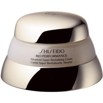 Shiseido Bio-Performance Advanced Super Revitalizing Cream crema revitalizanta si restauratoare împotriva îmbătrânirii pielii notino.ro