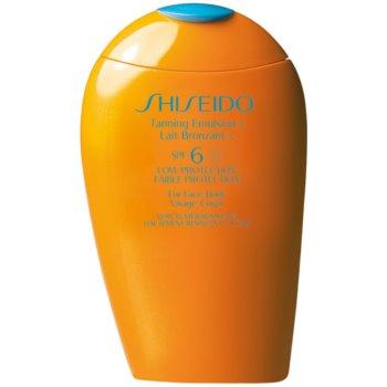 Shiseido Sun Care Tanning Emulsion lotiune pentru bronzat SPF 6 imagine 2021 notino.ro