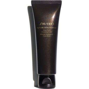 Shiseido Future Solution LX Extra Rich Cleansing Foam spuma de curatare notino poza