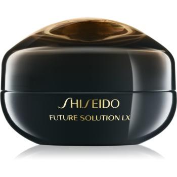 Shiseido Future Solution LX Eye and Lip Contour Regenerating Cream crema regeneratoare zona ochilor si a buzelor imagine 2021 notino.ro