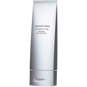 Shiseido Men Face Cleanser demachiant spumant delicat pentru toate tipurile de ten notino.ro
