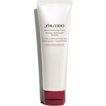 Shiseido Generic Skincare Deep Cleansing Foam Spuma curatare intensa. pentru ten gras si problematic notino.ro