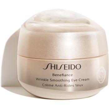 Shiseido Benefiance Wrinkle Smoothing Eye Cream crema de ochi antirid notino poza