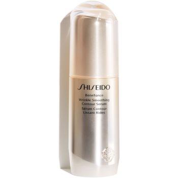 Shiseido Benefiance Wrinkle Smoothing Contour Serum Ser pentru reducerea semnelor de imbatranire imagine 2021 notino.ro