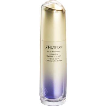 Shiseido Vital Perfection Liftdefine Radiance Serum ser pentru fermitate pentru un aspect intinerit notino poza