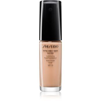 Shiseido Synchro Skin Glow Luminizing Fluid Foundation make-up pentru luminozitate SPF 20 notino.ro