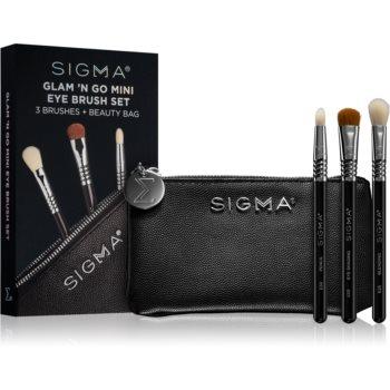 Sigma Beauty Glam N Go set de pensule cu geantă imagine 2021 notino.ro