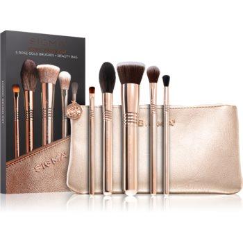 Sigma Beauty Iconic Brush Set set de pensule cu geantă II. notino poza