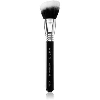 Sigma Beauty F53 pensula pentru fardul de obraz sau bronzer imagine 2021 notino.ro