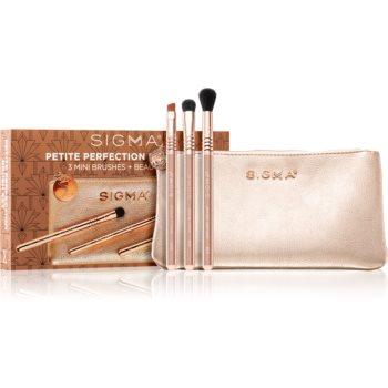 Sigma Beauty Rendezvous Petite Perfection Brush Set set de pensule cu geantă imagine 2021 notino.ro