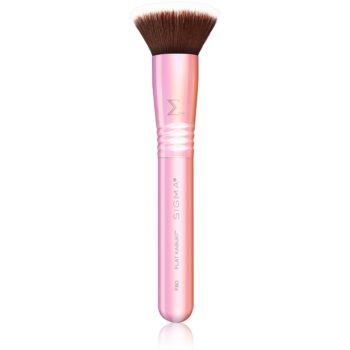 Sigma Beauty F80 Pink perie kabuki plată I. imagine 2021 notino.ro