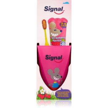 Signal Kids set pentru curatarea perfecta a dintilor II. pentru copii notino.ro