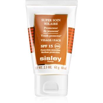Sisley Super Soin Solaire protectie solara rezistenta la apa pentru fata SPF 15 notino poza