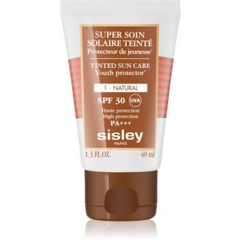 Sisley Super Soin Solaire Teinté crema de fata cu efect de protectie SPF 30 notino poza