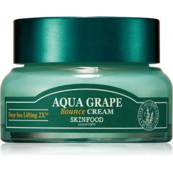 Skinfood Aqua Grape Bounce gel crema hidratant pentru micsorarea porilor