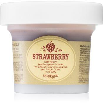 Skinfood Strawberry Black Sugar masca de peeling pentru curatarea profunda image0