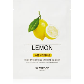 Skinfood Beauty In A Food Lemon Masca de iluminare si revitalizare image0