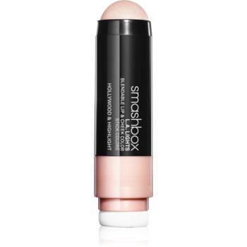 Smashbox L.A. Lights Lip & Cheek Color balsam de buze și Blush intr-unul singur imagine 2021 notino.ro