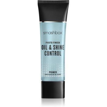 Smashbox Photo Finish Oil & Shine Control Primer fond de ten lichid cu efect matifiant notino.ro
