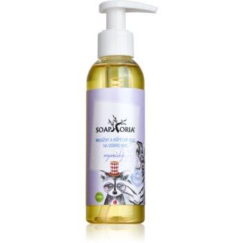 Soaphoria Babyphoria masaj organic și ulei de pentru un somn liniștit pentru copii imagine 2021 notino.ro