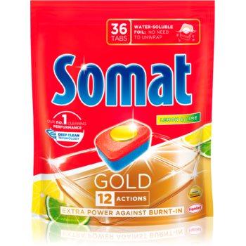 Somat Gold Lemon tablete pentru mașina de spălat vase imagine 2021 notino.ro